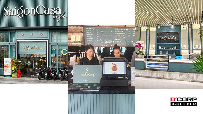 triển khai hệ thống POS tại Saigon Casa Cafe