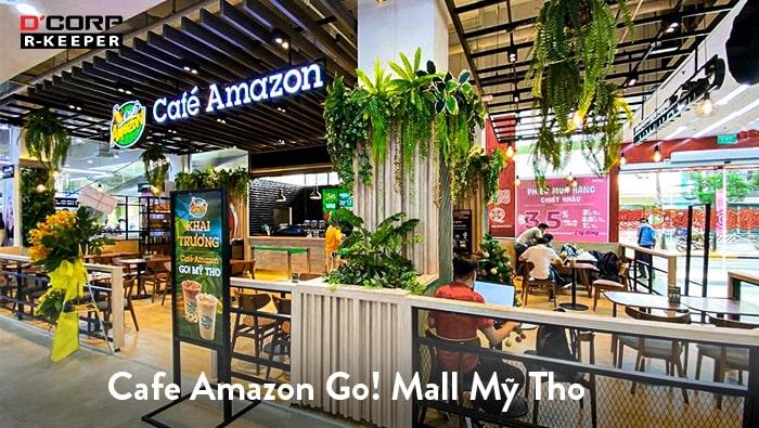 Cafe Amazon tăng tốc mở chuỗi